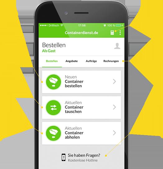 Funktionen der Container App im Detail