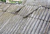 Abfallbeispiel für Asbest (Baustoffe)