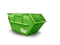 10 m³ Baumischabfall Container