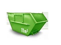 11 cbm Baumischabfall Container