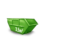 3.5 cbm Bauschutt Container