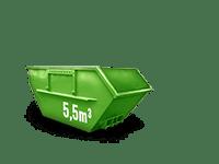 5.5 cbm Bauschutt Container