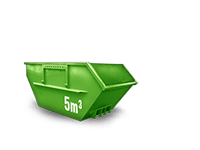 5 m³ Baumischabfall Container