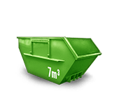 7 m³ Baumischabfall Container