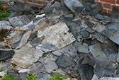 Abfallbeispiel für Dachpappe teerfrei