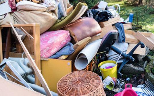 Abfallbeispiel für Siedlungsabfall