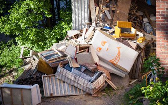 Abfallbeispiel für Sperrmüll